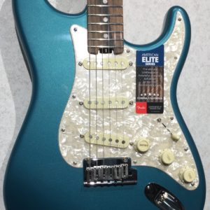Fender American Elite Stratocaster in Ocean Turquoise with Ebony fingerboard
