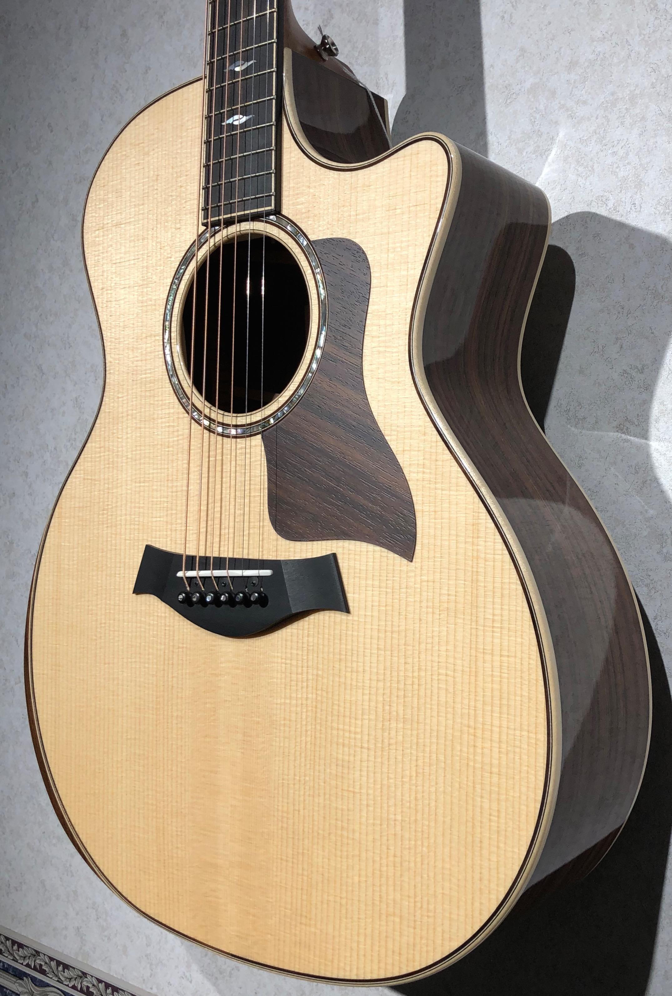 taylor guitars 814ce dlx v class bracing legacy music. Black Bedroom Furniture Sets. Home Design Ideas