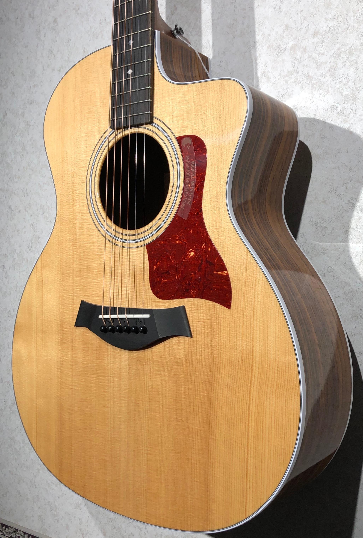 taylor guitars 214ce dlx legacy music. Black Bedroom Furniture Sets. Home Design Ideas